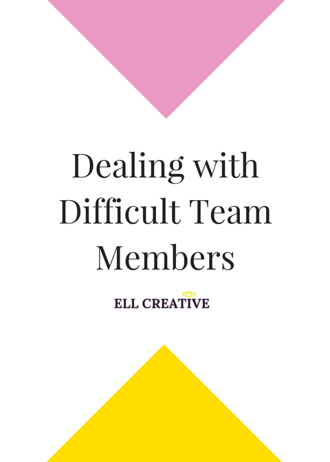 Dealing with Difficult Team Members